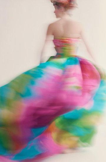 Wystawa kreacji domu mody Christian Dior w Dallas