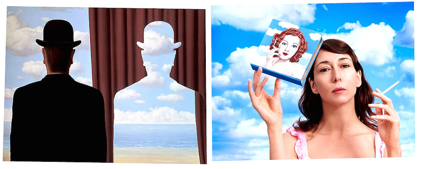 wystawa obrazów René Magritte'a w Paryżu