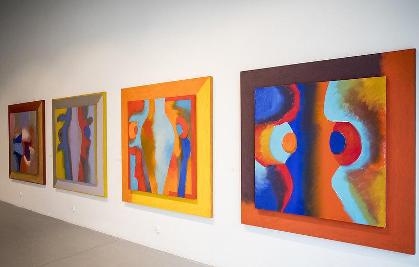 Wystawa obrazów Wojciecha Fangora w Radomiu
