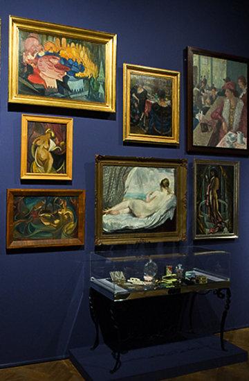 """Wystawa, pokaz mody """"Spragnieni piękna"""" Muzeum Narodowego w Warszawie"""