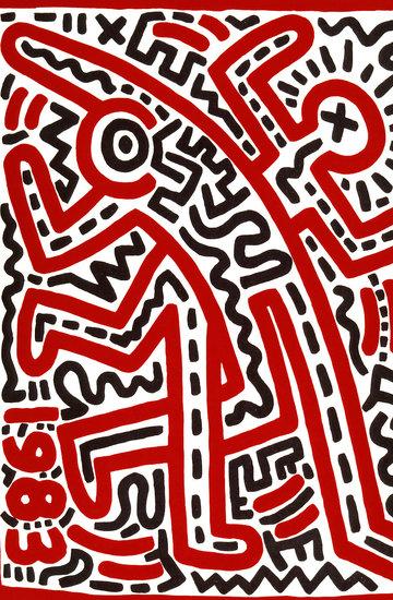 Wystawa prac Keith Hering, Tate Liverpool, Wielka Brytania