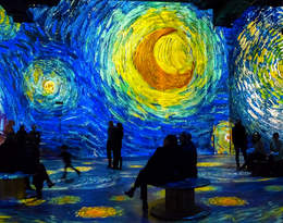 Chcecie się zanurzyć w świat obrazów Vincenta Van Gogha?