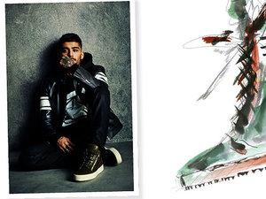 Zayn Malik zaprojektował kolekcję butów dla Giuseppe Zanotti