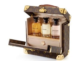 Zestaw trzech zapachów Louis Vuitton w kuferku
