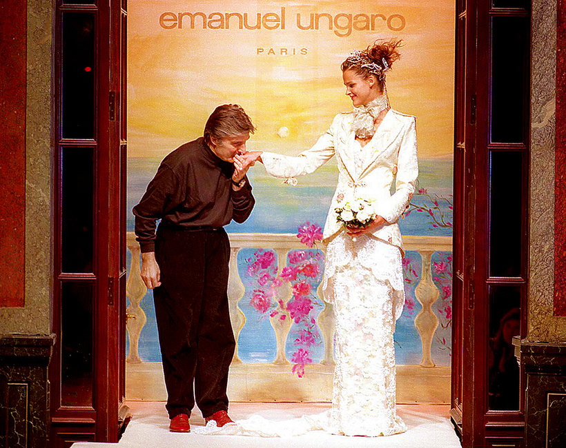 Zmarł francuski projektant Emanuel Ungaro!