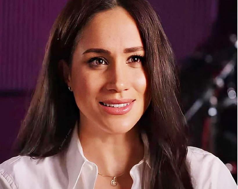 Znaczenie stroju ksieznej Meghan podczas wywiadu w amerykańskiej telewizji