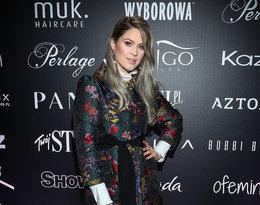 """Zofia Ślotała na pokazie kolekcji Roberta Kupisza na zimę 2018/19  """"Crown"""""""