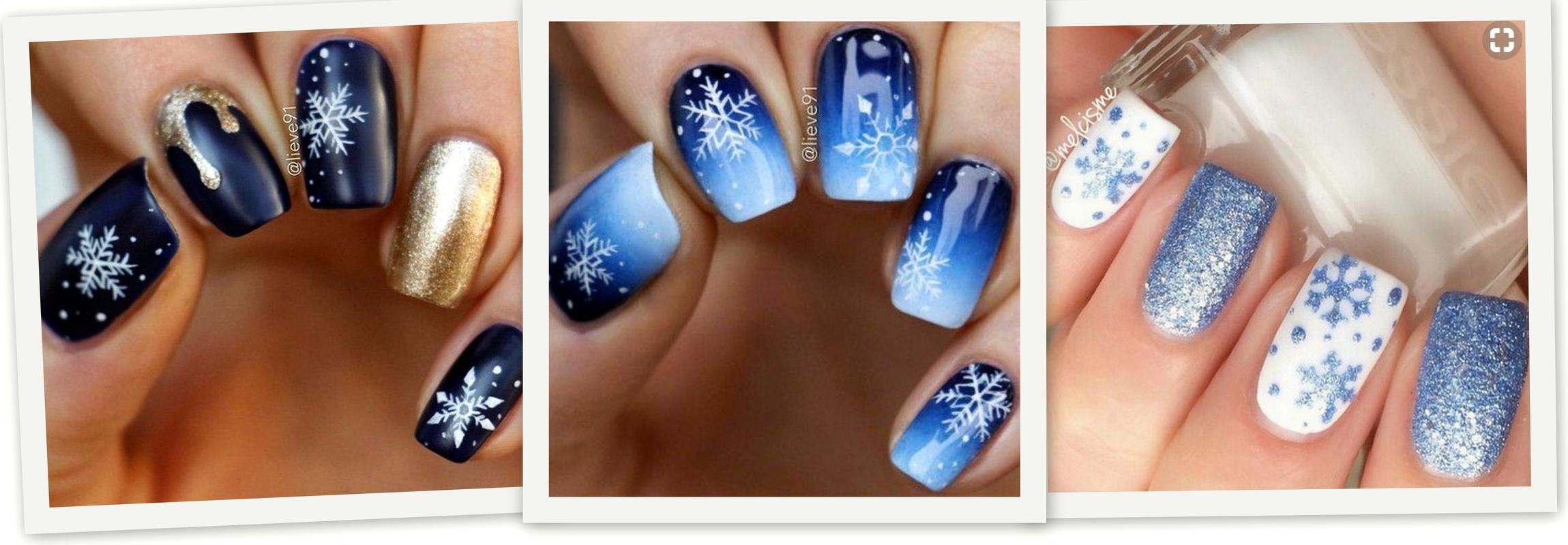 Jak Namalować śnieżynki Na Paznokciach Instrukcja Krok Po Kroku